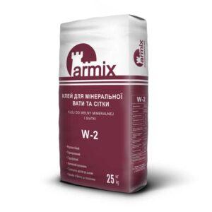 Клей-для-мінеральної-вати-Armix-W-2-система-утеплення